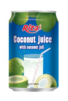 Coconut water with jelly 330ml