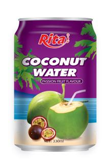 Coconut water with passion 330ml