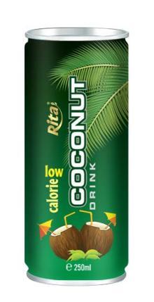 Coconut water low calorie 250ml