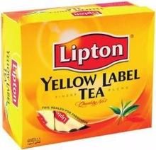 LIPTON Yellow Label Tea 100 bags Wholesale( Text Available in Arab and English)