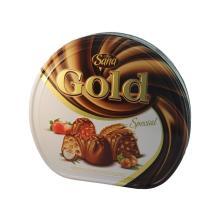 SANA GOLD COMPAUND CHOCOLATE 600GR TIN BOX
