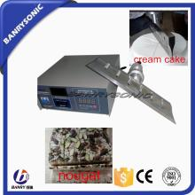 ultrasonic cake  cutting  machine