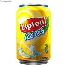 Lipton Ice Tea Peach ,Peach and Lemon 330ml Can (24 Case)