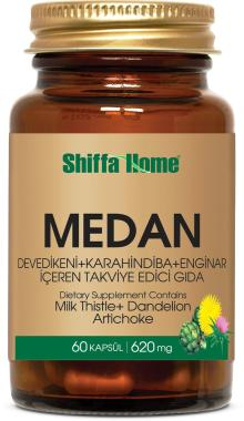 MEDAN Milk Thistle, Artichoke and Dandelion Extract Mix Capsule Supplement for Liver Health Food