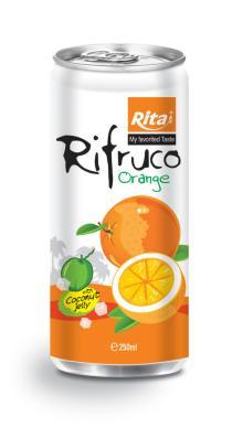 Orange Juice with Jelly