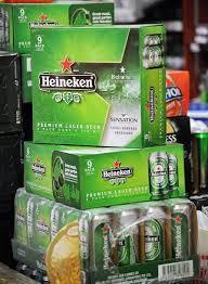 Heinekens Dutch Premium Lager Beer in 330ml bottle..