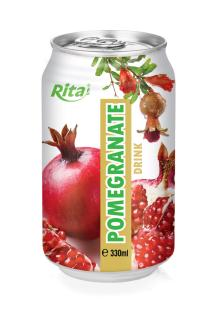 330ml can Pomegranate Juice