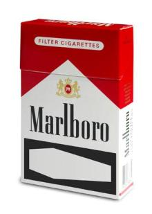 Long open pack cigarettes good