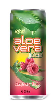 Aloe vera with Raspberry juice 250ml
