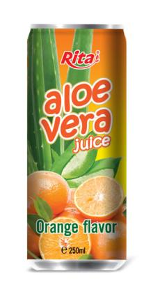 Aloe vera with orange juice 250ml