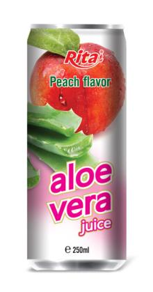 Aloe vera with peach juice 250ml
