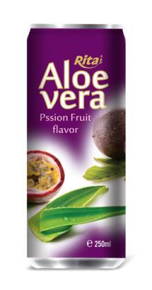 Aloe vera with passion juice 250ml