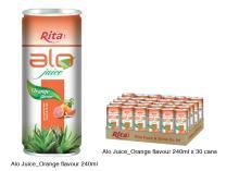 Aloe vera with orange 250ml