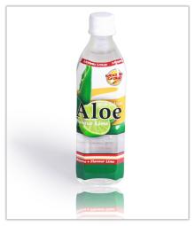 Aloe vera with Lime 500ml