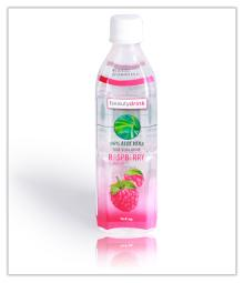 Aloe vera with strawberry 500ml