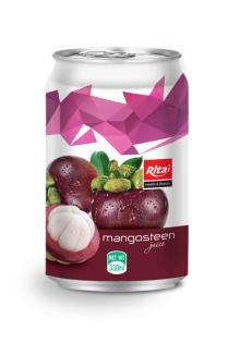 330ml canned mangosteen juice