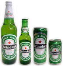 Heineken Beer 250ml, 330ml Cans and Bottles