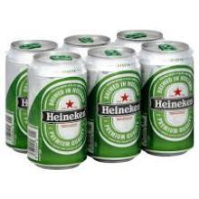 HEINEKENS BEER FROM HOLLAND - 250 ML