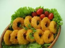 Frozen Crumbed and Breaded Squid Ring