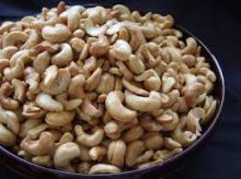 Well processed Cashew nuts