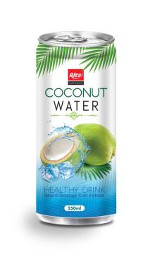 Natural coconut water 250ml slim can