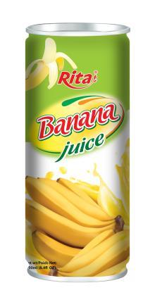 Canned Banana Juice