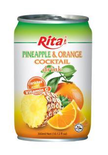 Pineapple & Orange Cocktail Drink