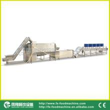 Vegetable Washing & Peeling & Drying Line