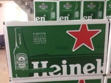 Green Bottles Pack Cans Beer ---Heinekens..250ML