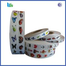 High quality bubble gum packing diy tattoo paper