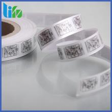 Heat transfer printing paper for bubble gum packing