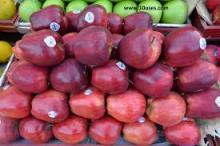 FRESH TOP RED APPLES FRUITS