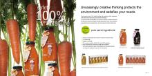 VDS natural carrot juice