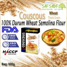 Couscous Thick Grain.100% Durum Wheat semolina flour. Retail Bag 0.5 Kg