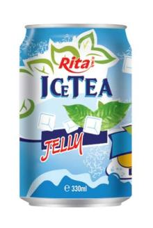 330ml Ice Tea with Jelly