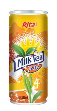 250ml Milk Tea with Jelly