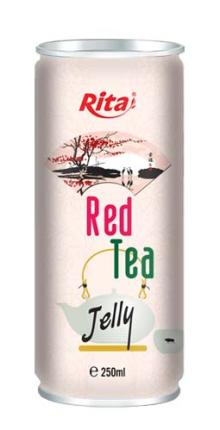 250ml Red Tea with Jelly