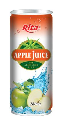280ml Apple Juice with Aloe Vera Pulp