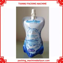 water standing up spout pouch/bag/sachet filling capping packing machine