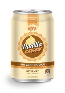 330ml Vanila Flavour Soda Drink