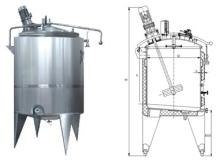 yogurt fermentation Tank