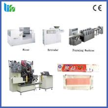 Automatic stick chewing gum production machine