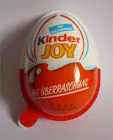 Kinder joy Surprise chocolate