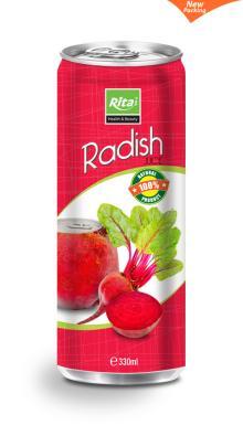 Slim can Radish Juice