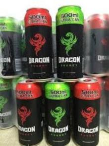 Dragon energy drinks