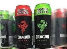 Dragon energy drinks..