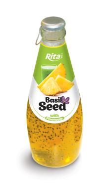 290ml Basil Drink with Pineapple