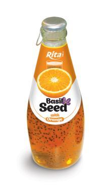 290ml Basil Seed with Orange