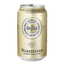 Warsteiner Beer Can 500m