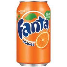 Fanta Soft Drink 330ml x 24 Cans